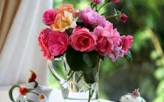 Как сделать чтобы роза долго стояла